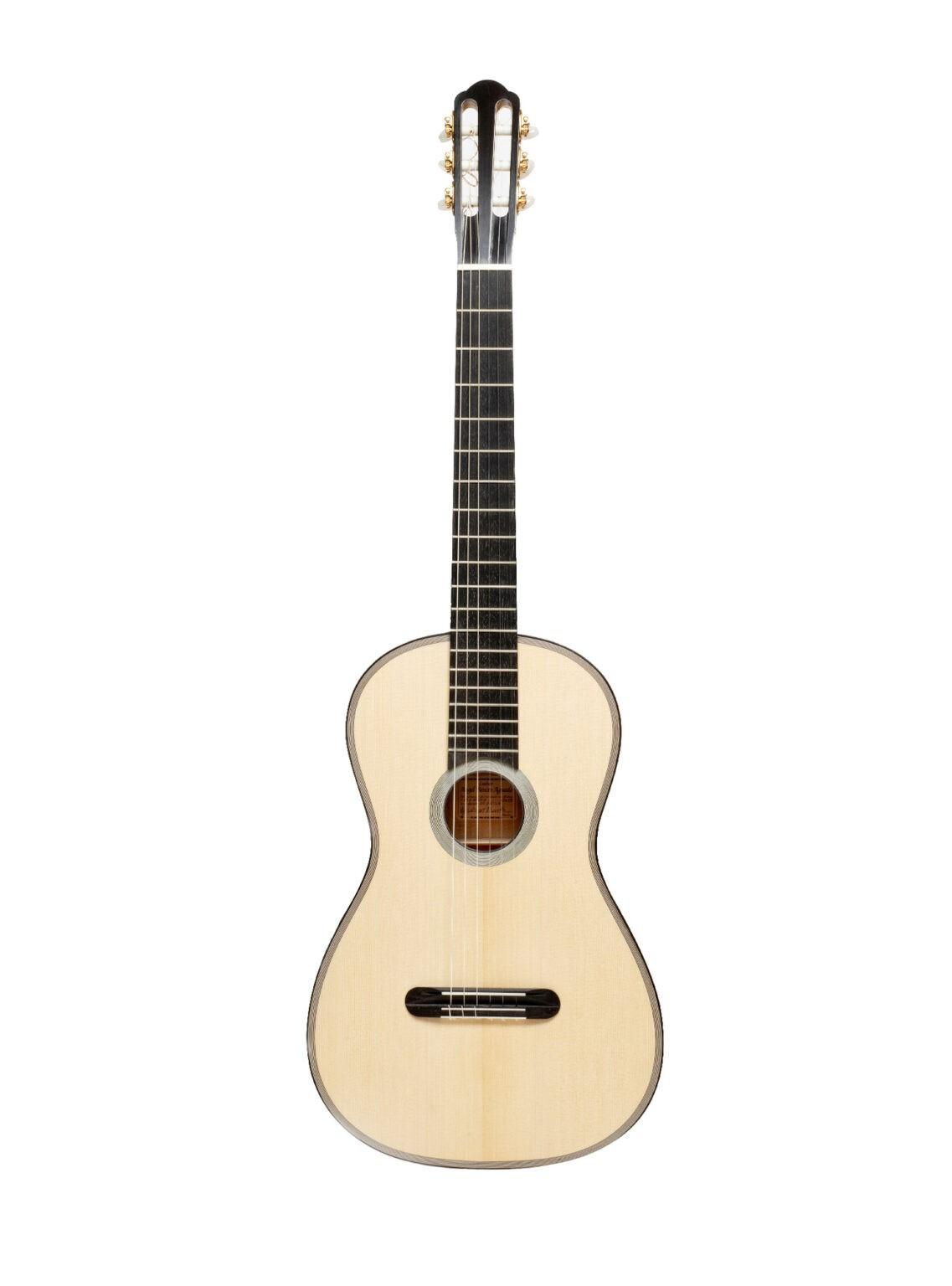 Guitarras de Angel Benito Aguado - Reproducciones de guitarras históricas - Lacôte (modelo Dionisio Aguado)